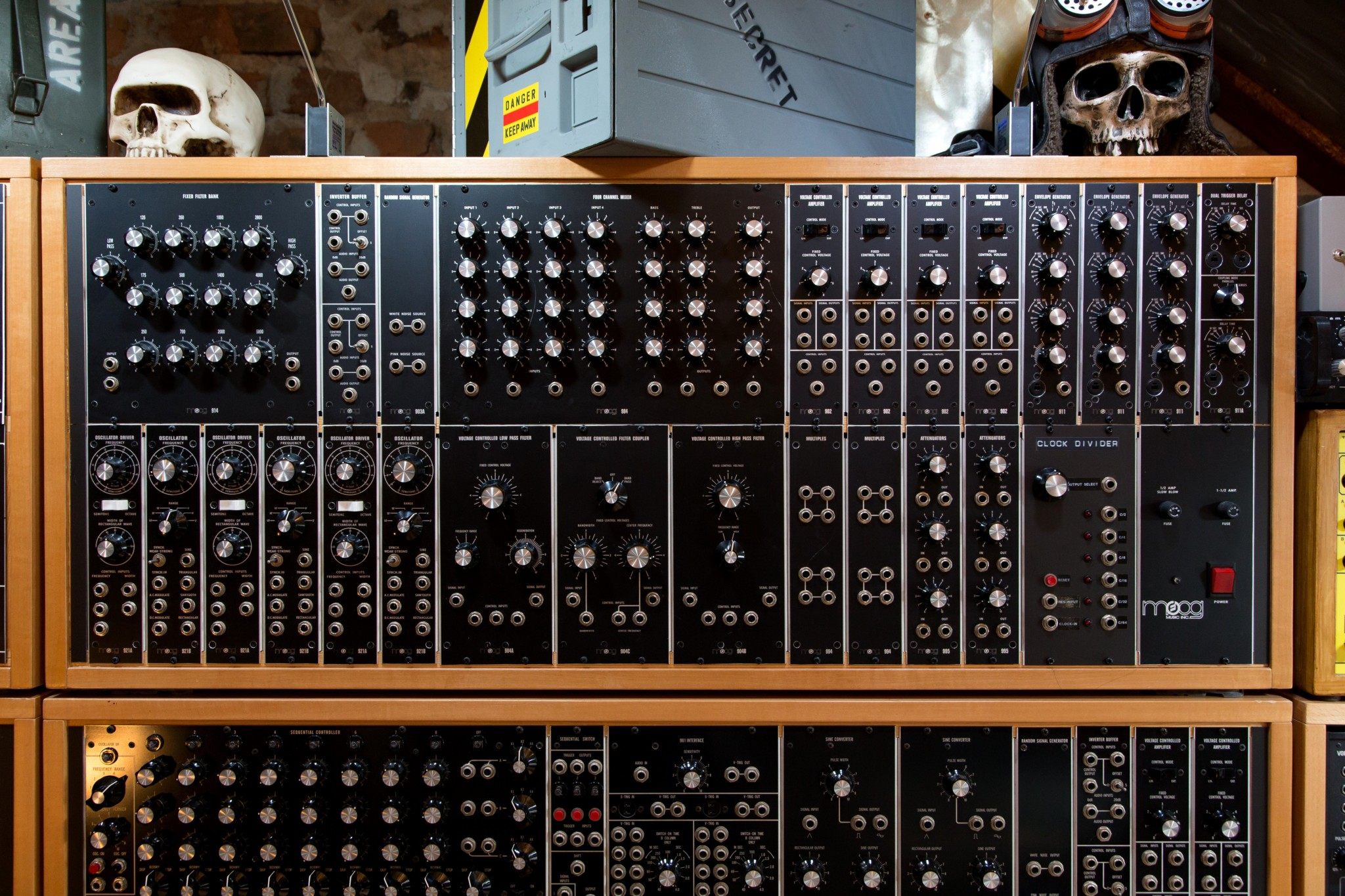 Big Modular Synth 014