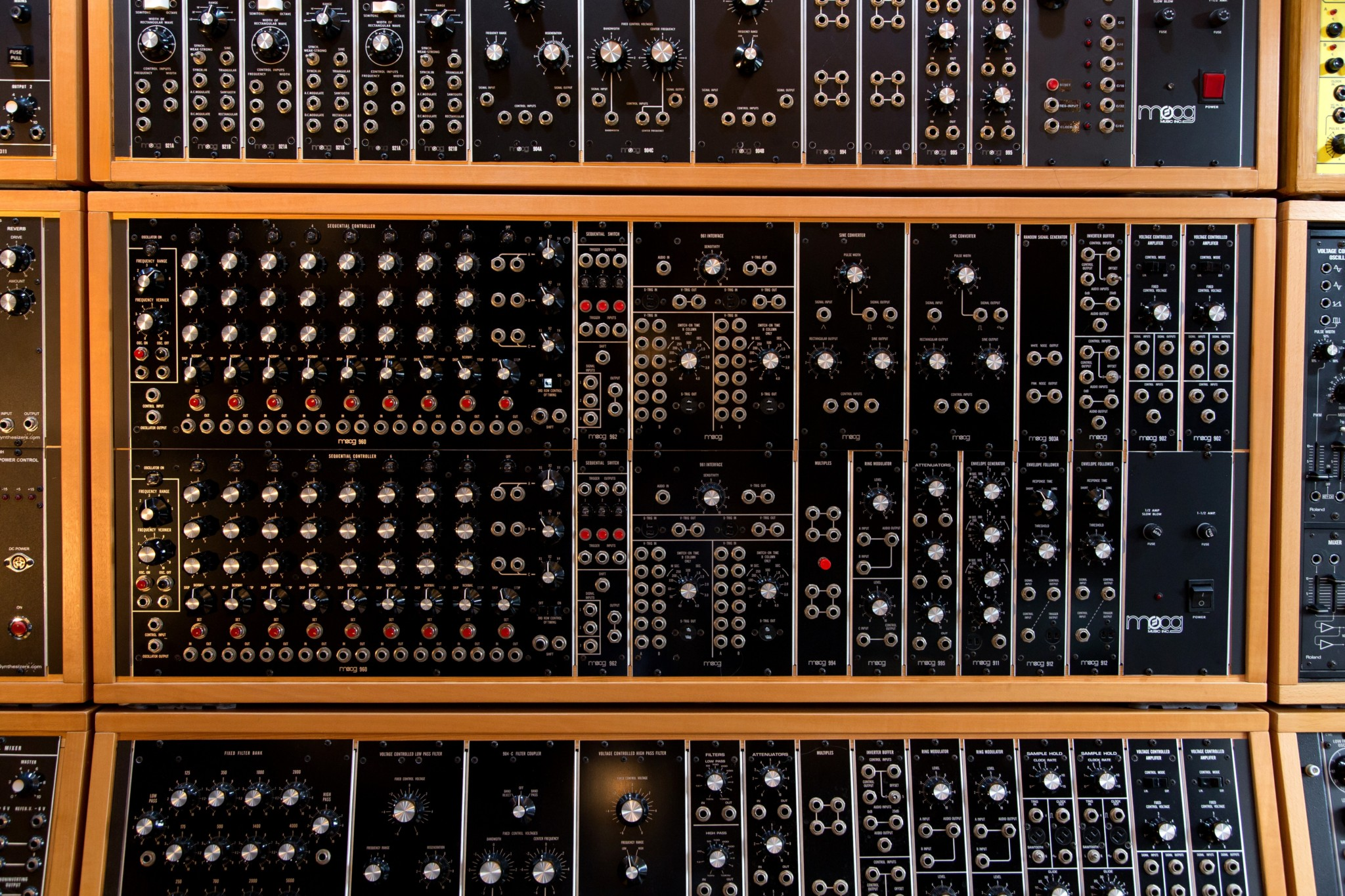 Big Modular Synth 017