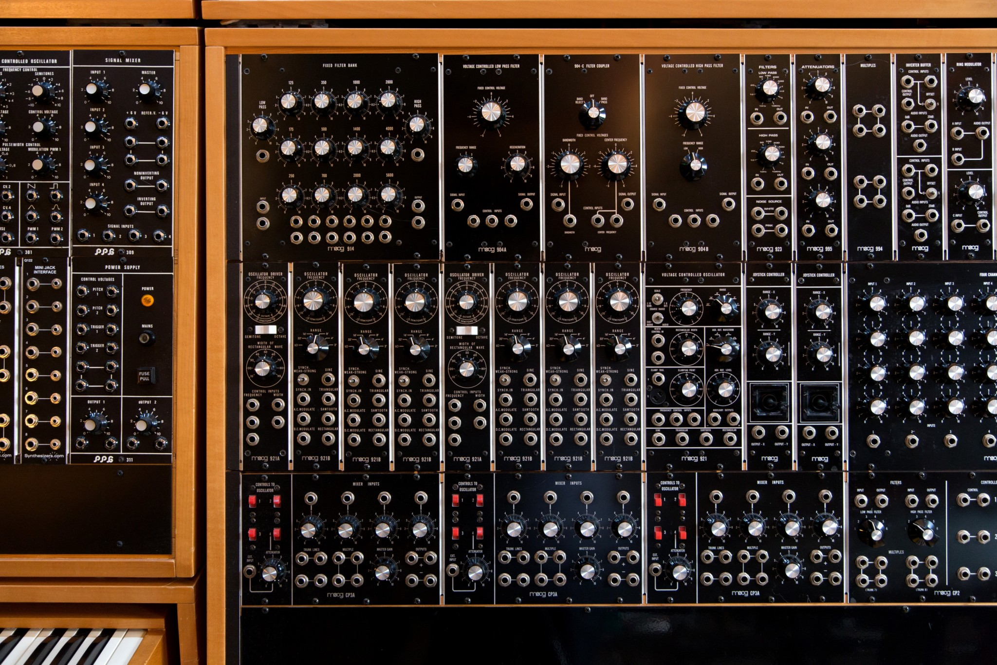 Big Modular Synth 018