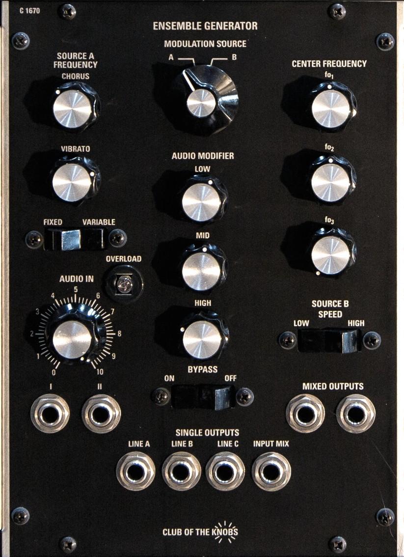 C1670 Ensemble Generator