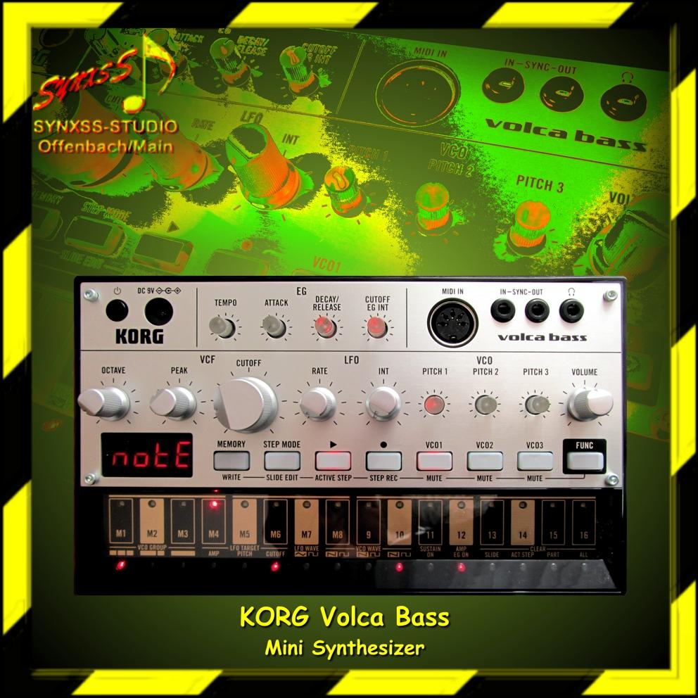 Korg Volca Bass