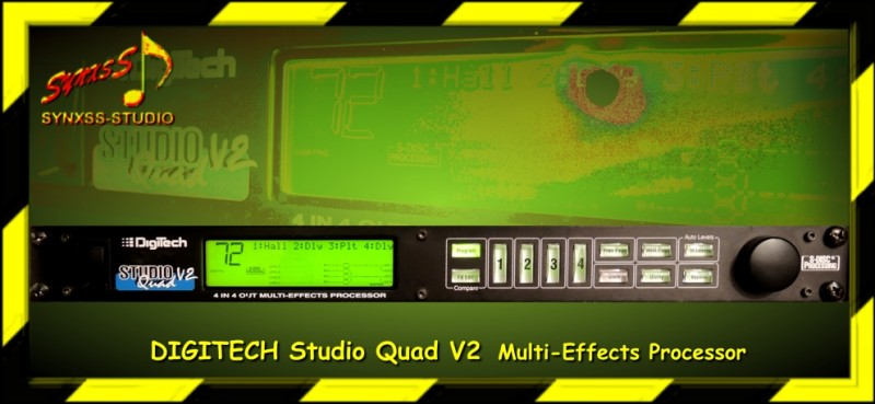 Digitech Studio Quad V2