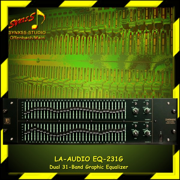 LA-Audio EQ-231 G
