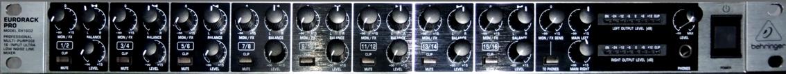 Eurorack Pro RX1602 2