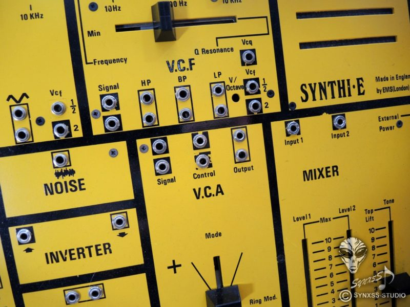 Aliens Project Close Up Der Woche 3517 Ems Synthi E